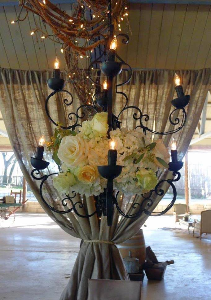 chandelier supplier for events